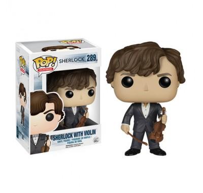 Шерлок со скрипкой (Sherlock with Violin (Vaulted)) из сериала Шерлок