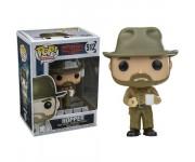 Hopper with Donut из сериала Stranger Things 512