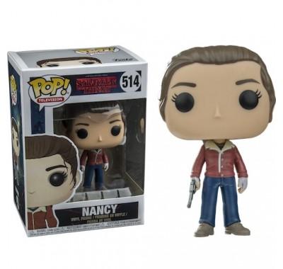 Нэнси с пистолетом (Nancy with Gun) из сериала Очень странные дела