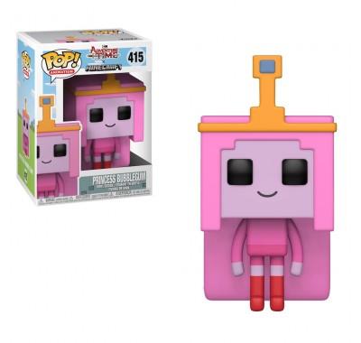 Принцесса Бубльгум в стиле Майнкрафт (Princess Bubblegum Minecraft Style) из мультика Время приключений