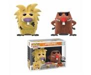 Norbert and Daggett Flocked 2-pack (Эсклюзив FYE) из мультсериала Angry Beavers