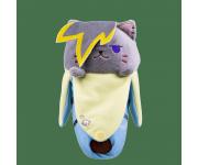 Emo Bananya Plush из мультсериала Bananya