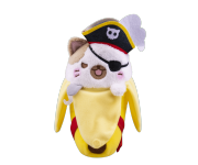 Pirate Bananya Plush из мультсериала Bananya