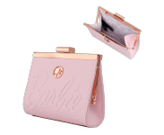 Barbie Rose Gold Kisslock Wallet Loungefly из серии Barbie