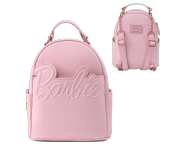 Barbie Rose Gold Logo Chain Strap Convertible Mini Backpack Loungefly из серии Barbie