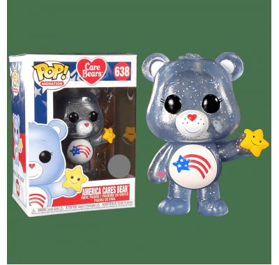 Заботливая Америка (America Cares Bear (Эксклюзив Funko Shop)) из мультика Заботливые мишки