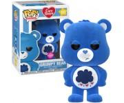 Grumpy Bear flocked (Эксклюзив) из мультика Care Bears