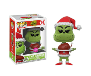 Grinch with Turkey Flocked (Эксклюзив Box Lunch) из книг Dr. Seuss The Grinch