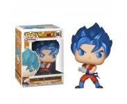 SSGSS Goku Kamehameha Metallic (Эксклюзив Chalice Collectibles) (preorder WALLKY) из аниме сериала Dragon Ball Super