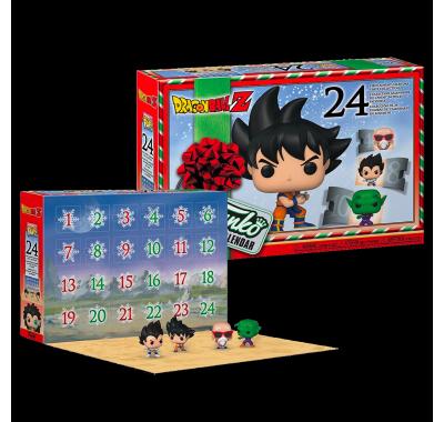 Адвент календарь Драконий жемчуг Зет (Dragon Ball Z Advent Calendar) из аниме сериала Драконий жемчуг Зет