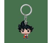 Goku with Kamehameha Keychain Metallic (Эксклюзив Box Lunch и Hot Topic) из аниме Dragon Ball Z