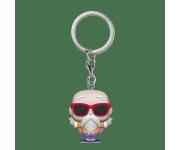 Master Roshi Peace Sign Keychain из аниме Dragon Ball Z