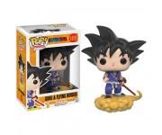 Goku and Flying nimbus из аниме сериала Dragon Ball