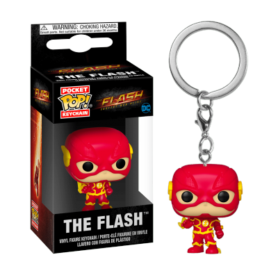 Флэш с молниями брелок (The Flash with Lightning Keychain) из сериала Флэш