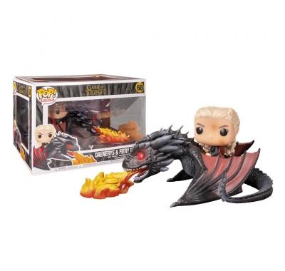 Дейнерис на Дрогоне выпускающем пламя райд (Daenerys with Fiery Drogon Ride) из сериала Игра престолов