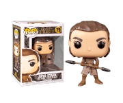 Arya Stark with two-handed spear из сериала Game of Thrones