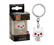 Ghost keychain Flocked (PREORDER ZS) (Эксклюзив Box Lunch) из сериала Game of Thrones