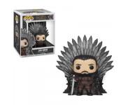 Jon Snow on Iron Throne Deluxe (preorder WALLKY P) из сериала Game of Thrones HBO