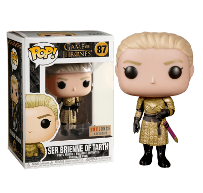 Бриенна Тарт со стикером (Brienne of Tarth (Эксклюзив Box Lunch)) из сериала Игра Престолов HBO
