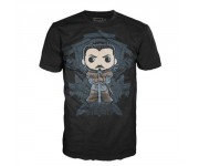Jon Snow Crest T-Shirt (размер M) из сериала Game of Thrones