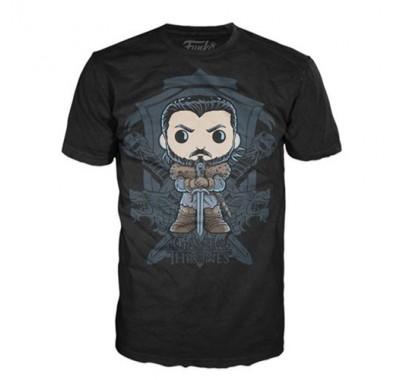 Джон Сноу майка (Jon Snow Crest T-Shirt (размер M)) из сериала Игра престолов