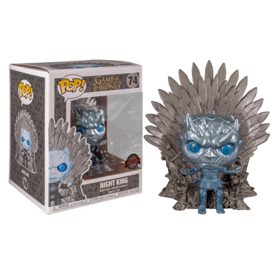 Король Ночи на железном троне металлик (Night King on Iron Throne Metallic Deluxe (Эксклюзив HBO)) из сериала Игра престолов