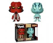 Hellboy and Abe Sapien Vynl. (preorder WALLKY P) из комиксов Hellboy
