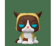Grumpy Cat Flocked со стикером (Эксклюзив Entertainment Earth) из серии Icons
