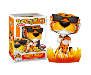 Cheetos Chester Cheetah with Flames GitD (Эксклюзив Box Lunch) из серии Ad Icons