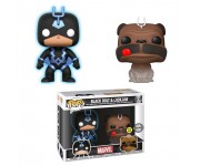 Black Bolt Glow and Lockjaw 2-pack (Эксклюзив Previews Exclusive) из комиксов Inhumans Marvel