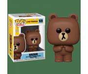 Brown из серии Line Friends