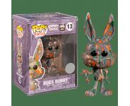Bugs Bunny Carrot Art Series (Эксклюзив Funko Shop) (preorder WALLKY) из мультика Looney Tunes 13