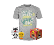 Sylvester and Tweety POP and Tee (Размер L) (PREORDER ZS) из мультфильма Looney Tunes