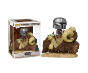 Mandalorian and The Child on Bantha Deluxe (Preorder MID December) из сериала Star Wars: Mandalorian