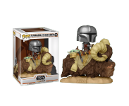 Mandalorian and The Child on Bantha Deluxe (PREORDER ZS) из сериала Star Wars: Mandalorian