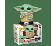 Grogu The Child / Baby Yoda with Cookie из сериала Star Wars: Mandalorian 465