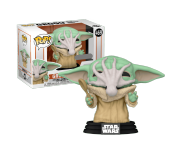 Grogu (The Child, Baby Yoda) with Soup Creature (Эксклюзив Target) из сериала Star Wars: Mandalorian 469