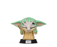 Grogu (The Child, Baby Yoda) with Soup Creature (Эксклюзив) из сериала Star Wars: Mandalorian