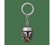 Mandalorian Keychain из сериала Star Wars: Mandalorian