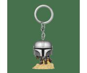 Mandalorian with Blaster Keychain из сериала Star Wars: Mandalorian