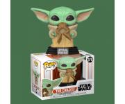 The Child / Baby Yoda with Frog из сериала Star Wars: Mandalorian