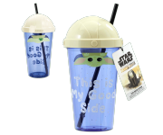 The Child / Baby Yoda Cup with Straw This Is My Good Side (PREORDER ZS) из сериала Star Wars: Mandalorian