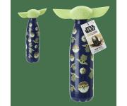 The Child / Baby Yoda Metal Water Bottle figural head (PREORDER ZS) из сериала Star Wars: Mandalorian