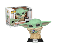 The Child / Baby Yoda with Control Knob со стикером (Эксклюзив GameStop) из сериала Star Wars: Mandalorian 370