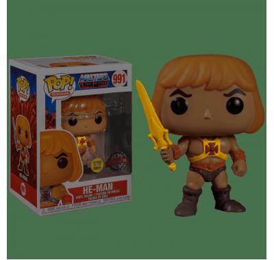 Хи-Мен с мечом светящийся (He-Man with Sword GitD (Эксклюзив Walmart)) из мультика Властелины вселенной