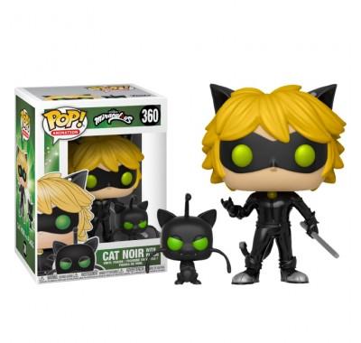 Супер-кот и Плагг (Cat Noir with Plagg Buddy) из мультика Леди Баг и Супер-кот