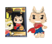 All Might Gold 4-inch Enamel Pin (Chase) из аниме My Hero Academia