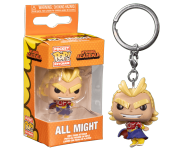 All Might Silver Age Keychain (PREORDER ZS) из аниме My Hero Academia