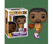 Magic Johnson Los Angeles Lakers Home Jersey из Basketball NBA 78
