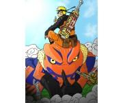 Naruto and Gamakichi Ride (Эксклюзив) из сериала Naruto